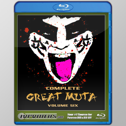 Complete Great Muta V.6 (Blu-Ray with Cover Art)